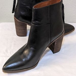 NWOT Franco Sarto Marmalade Leather Boots